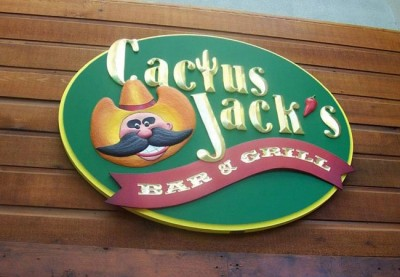 cactus_jack's_hand_carved_entry_sign
