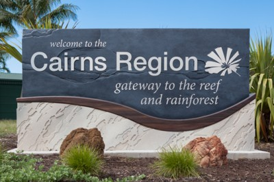 Cairns Region Shire Entry Signs