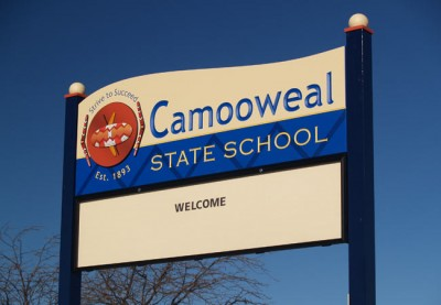 Camooweal State School Sign