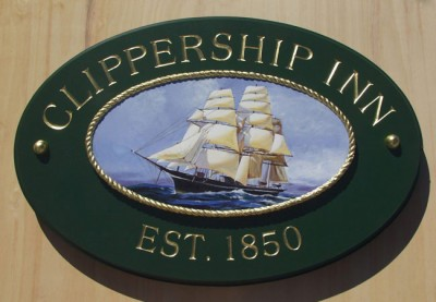 Clippership Inn B&B Sign