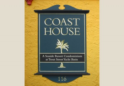 Coast House Development Sign