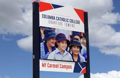 columba-cc-charters-towers-sign