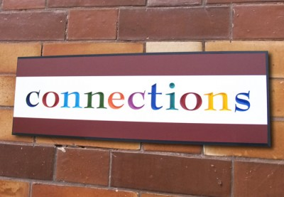 Connections Business Sign