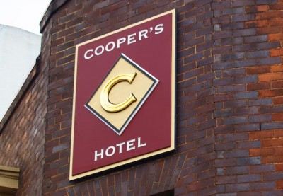 Coopers_hotel_sign_system_branding_sign