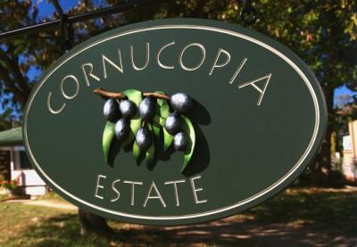 Cornucopia Estate Property Sign
