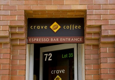 Crave Cafe Sign System