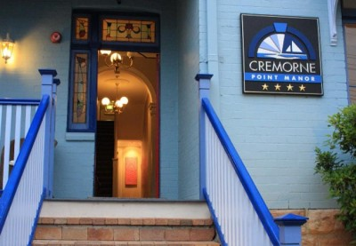 Cremorne_point_manor_B&B_sign