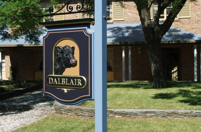 Dalblair Property Sign
