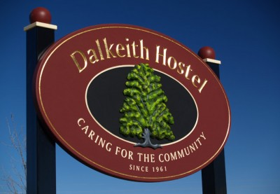 Dalkeith Hostel Aged Care Sign