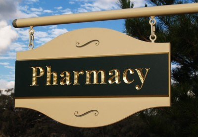 Pharmacy Healthcare Sign