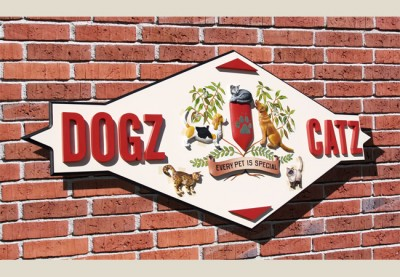Dogz Catz Business Sign