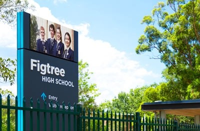 figtree-high-school-led-sign