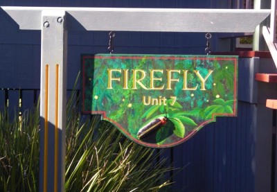 Firefly & Butterfly Property Signs