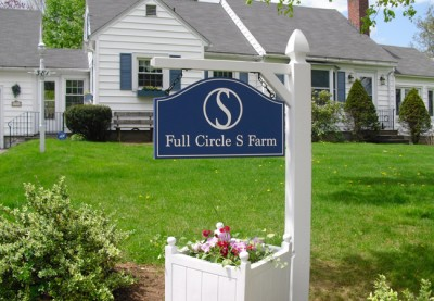 Full Circle S Farm House Sign