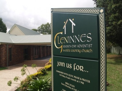 Glen Innes Seventh-Day Adventist Church Sign