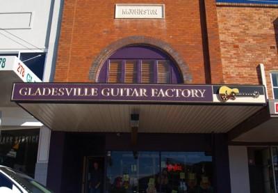 Gladesville Guitar Business Sign
