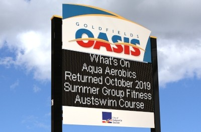 electronic-notice-board-sign-goldfields-oasis-kalgoorlie