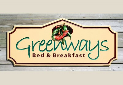Greenways_B&B_welcome_sign