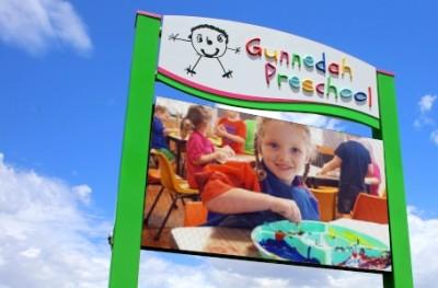 gunnedah-preschool-LED-sign-australia