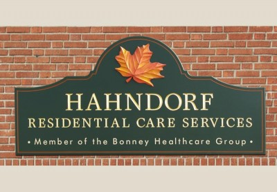 Hahndorf Aged Care Sign