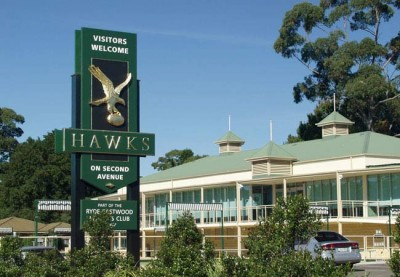 Hawks Club Sign System