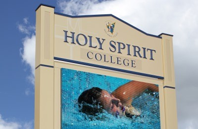 Holy Spirit College Mount Pleasant LED and wall signs