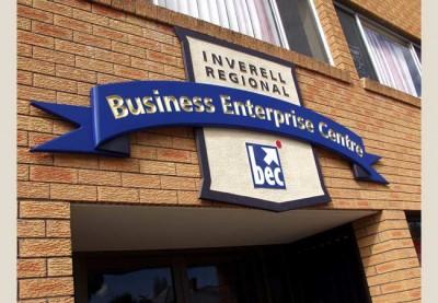 Inverell BEC Business Sign