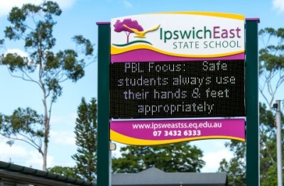 ipswich-east-state-school-changeable-notice-board-electronic-sign