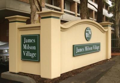 James Milson Village Aged Care Sign System
