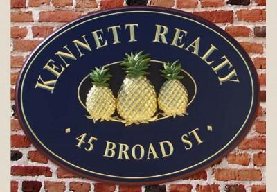 Kennett Realty Business Sign
