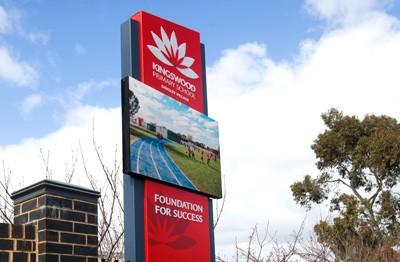 kingswood-primary-school-melbourne-LED-sign