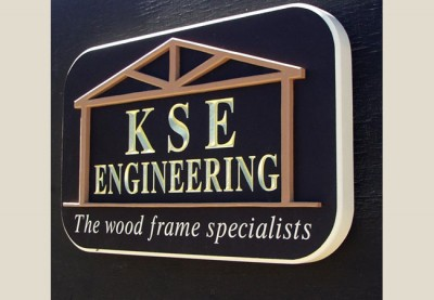 KSE Engineering Business Sign