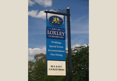 Loxley Motel Sign System