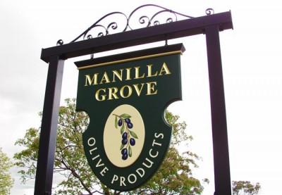 Manilla Grove Rural Business Sign