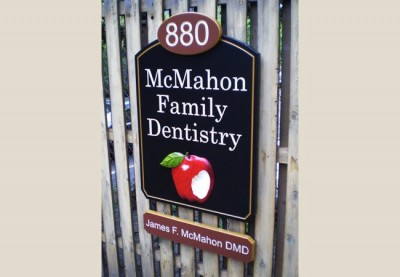 McMahon Family Dentistry Sign