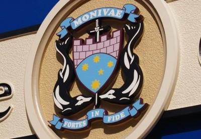Monivae College School Sign