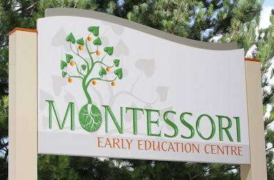 Montessori Early Education Sign