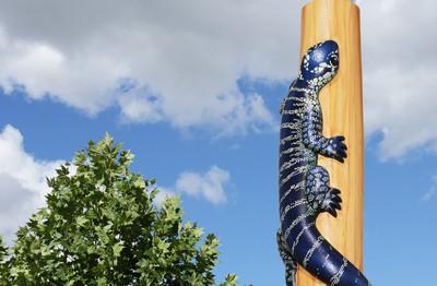 mount-druitt-lizard-totem