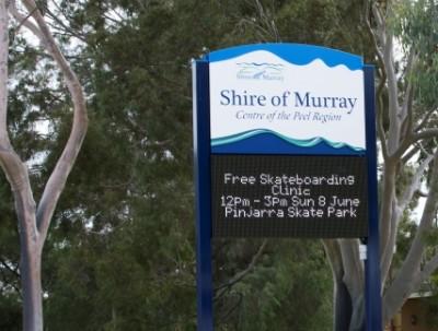 Murray Shire Council LED Display