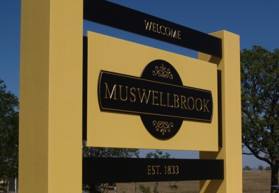 Muswellbrook Local Government Signs