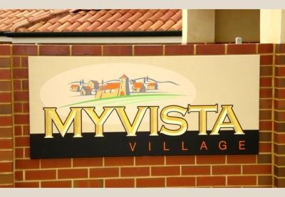 My Vista Village Aged Care Sign