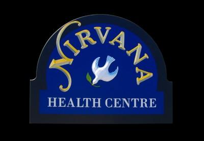 Nirvana Healthcare Sign