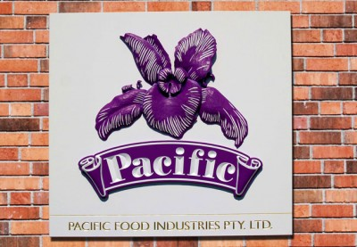 Pacific Food Business Sign