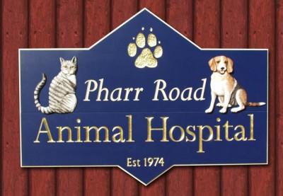 Pharr Road Rural Business Sign