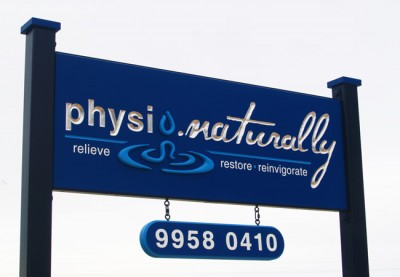 Physio.naturally Healthcare Sign