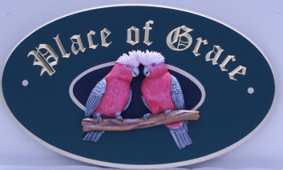 Place of Grace House Sign