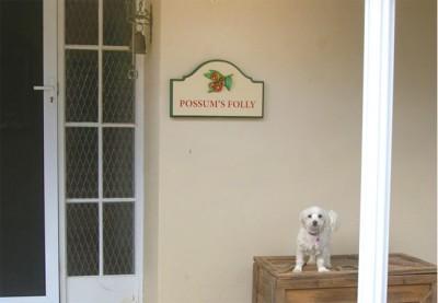 Possum's Folly House Sign