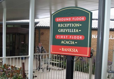 Weeroona Aged Care Sign System