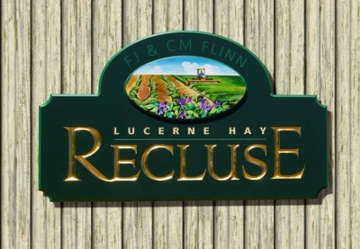 Recluse Rural Business Sign