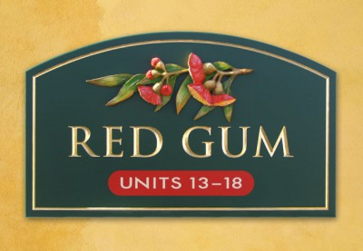 Red Gum Aged Care Sign
